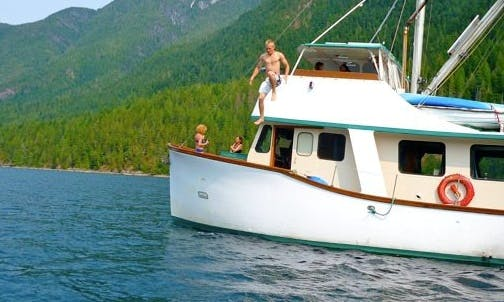 50' Trawler Yacht, all inclusive, BC. Coast