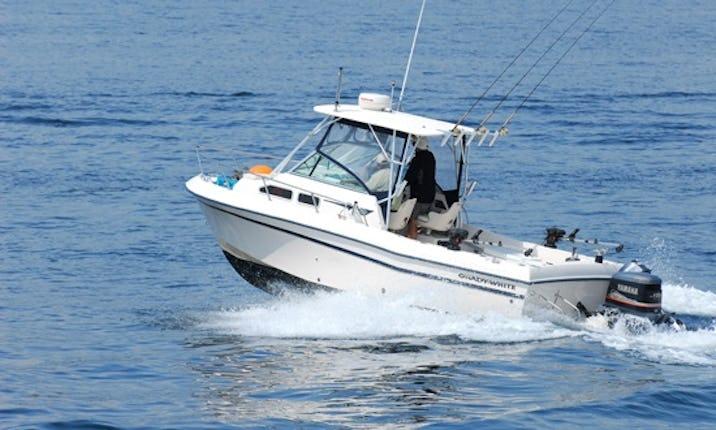 24ft Grady White Cuddy Cabin Boat Fishing Charter in