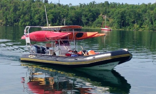 Adventure Rib Tours In Rossport, Ontario