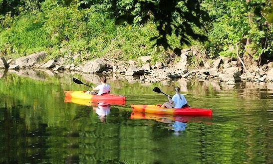 Single Kayak Trips In The Shenandoah River