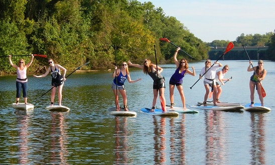 Stand Up Paddleboard Trips In The Shenandoah River