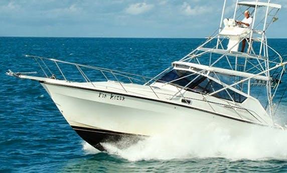 Fishing Charter on 38ft Sportfisherman In Key Largo, Florida