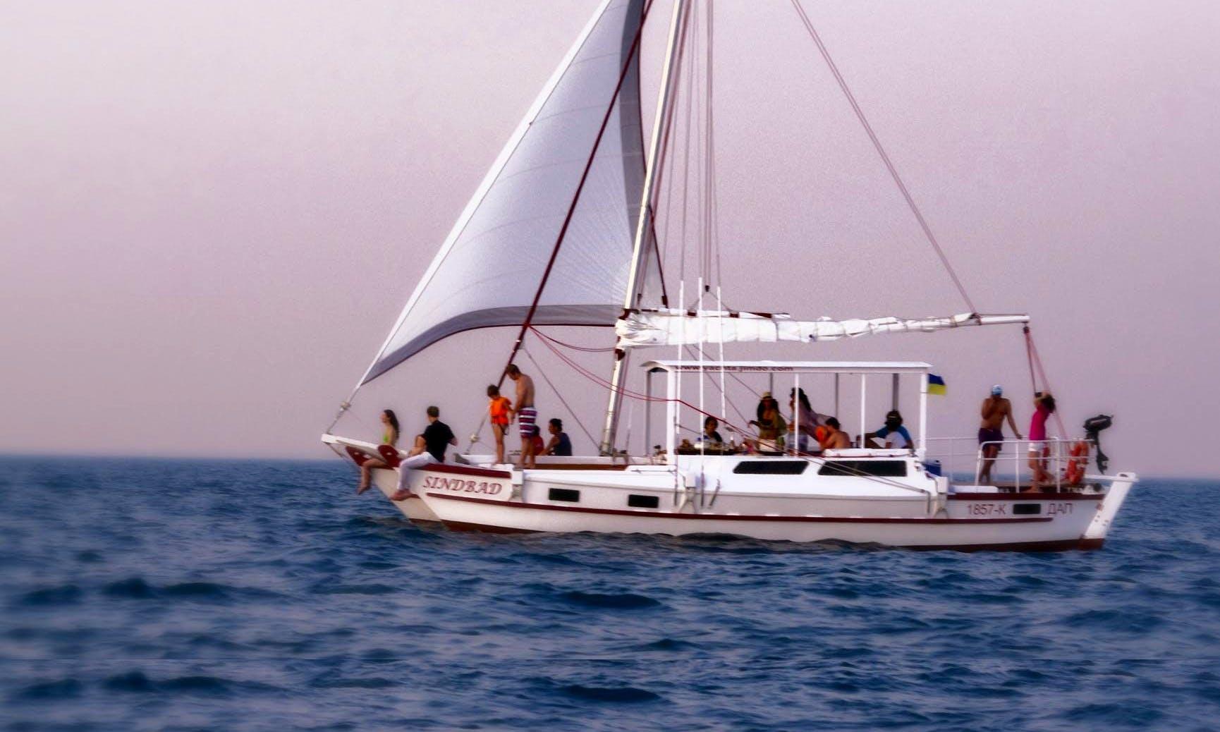 'Sinbad' Sailing Catamaran Charter in Odessa