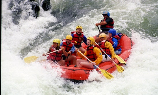 Whitewater Rafting On Rogue River, Ashland
