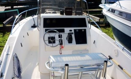 24' Sea Strike Fishing Charter In Naples, Florida