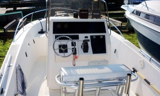 Enjoy 24' Sea Strike Fishing Charter In Naples, Florida