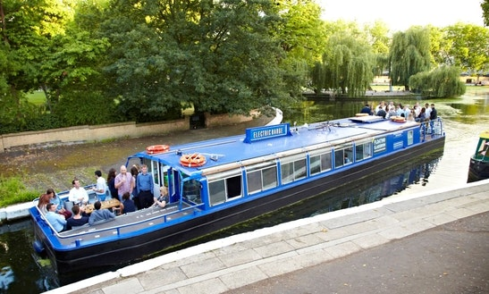 Enjoy London, United Kingdom On Canal Boat