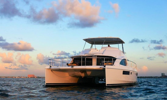 51' Laissez Faire Catamaran Charters In Miami