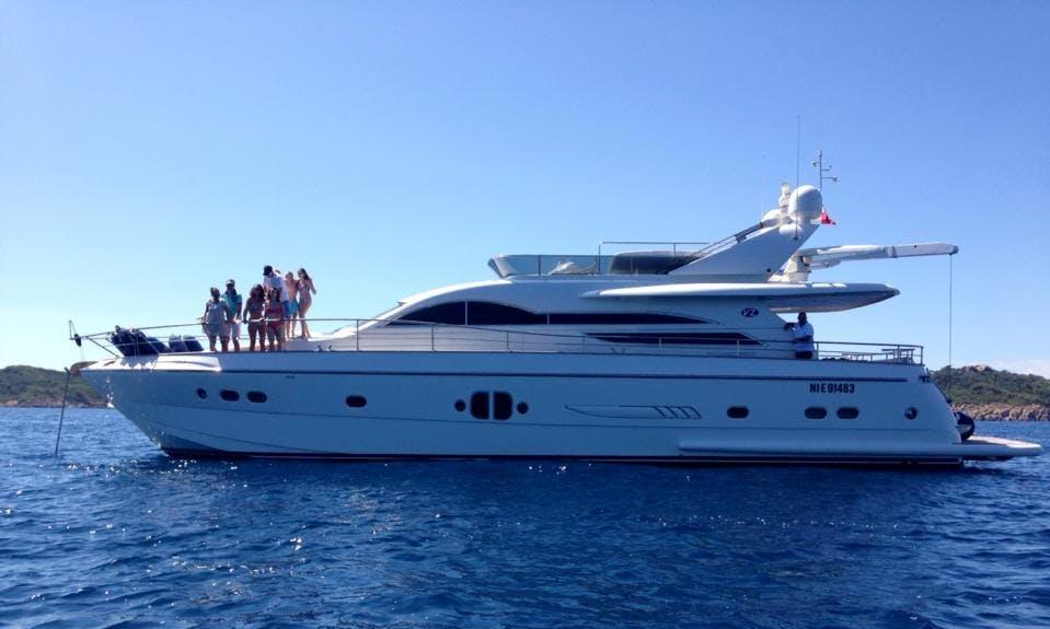 "VZ 68 ""Tivella"" Motor Yacht Charter in Frejus"