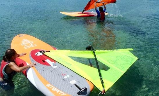 Windsurf Lesson In Bermuda