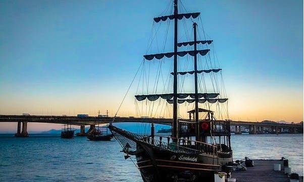 69' Pirate Boat Adventure In Florianópolis