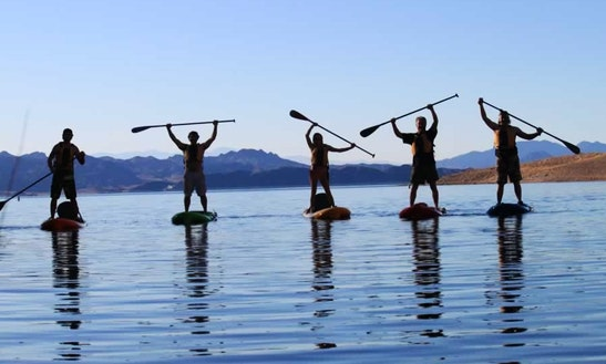 Stand Up Paddleboard Colorado River Tour