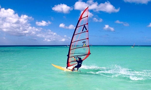 Windsurfing in Cape Town, South Africa