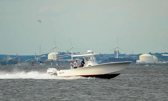 Enjoy Fishing On 30' Center Console In Warwick, Rhode Island