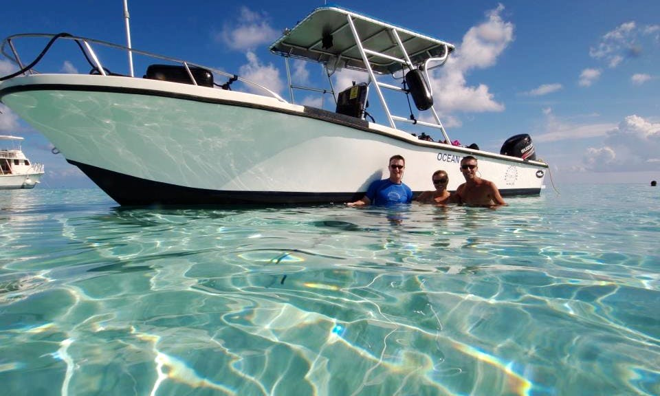 "27' Center Console ""Ocean Blue"" Diving Charter in George Town, Cayman Islands"