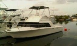 "32' Sport Fisherman ""Justine"" Fishing Charter in Ocho Rios, Jamaica"
