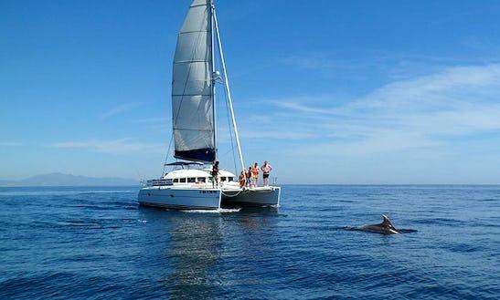 Lagoon 380 Sailing Catamaran Charter In Le Marin
