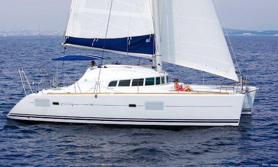 Lagoon 410 Sailing Catamaran Charter In Le Marin