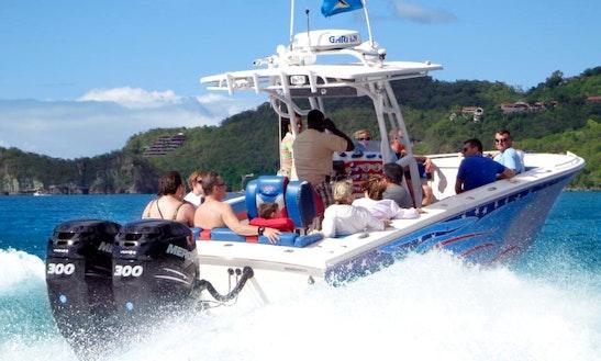 Land, Sea  Beach Adventure, St. Lucia