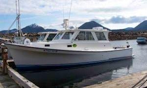 35' Trawler Charter in Ketchikan, Alaska