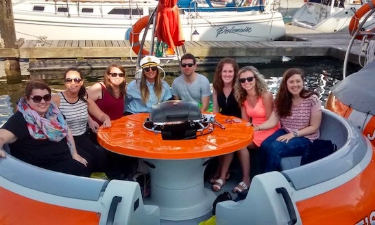 Bbq Boat Pontoon Rental In Vancouver, Canada