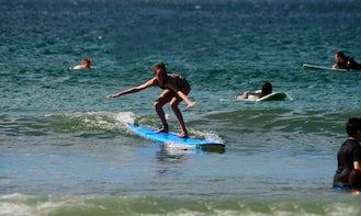 Surfing Lesson In Tamarindo