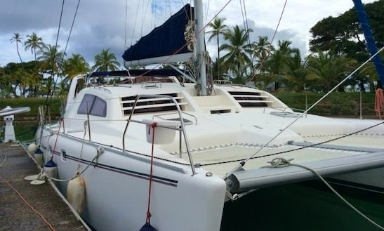 Crewed Charter On Leopard 47 Sailing Catamaran In San Blas Islands, Panama