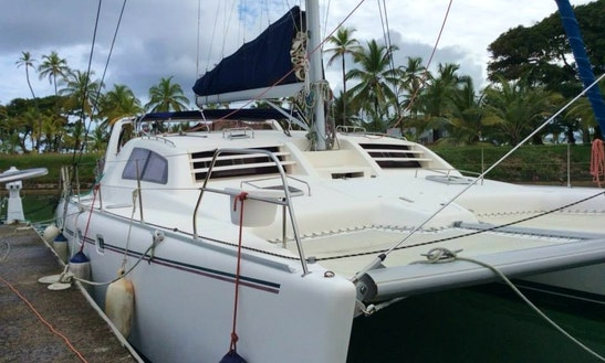 Crewed Charter On Leopard 47 Sailing Catamaran In San Blas Islands, Panama