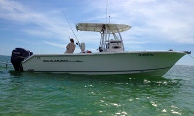 Enjoy 25' Center Console Fishing Charter in Marco Island, Florida