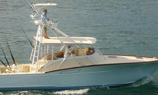 36' Fishing Charter In Herradura