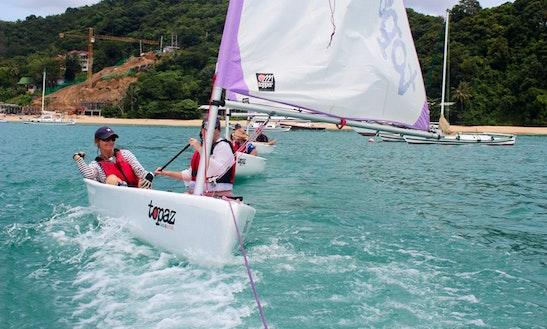 Topaz Uno Plus Daysailer Rental In Phuket, Thailand