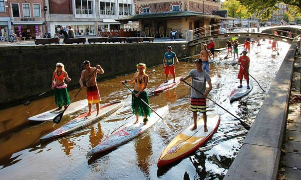Stand Up Paddleboard Rental in Abcoude, Netherlands