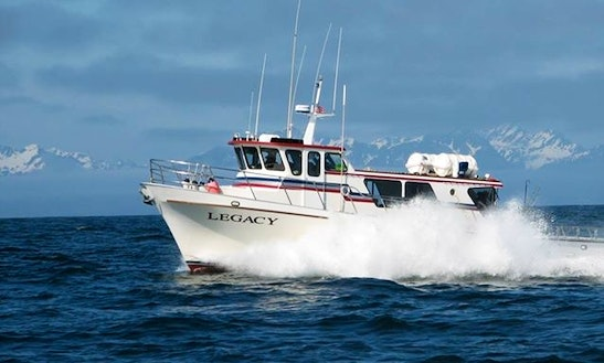 Fishing Charter On 53ft