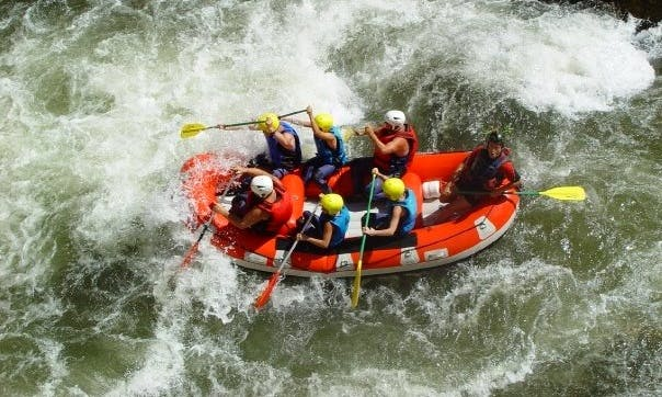 White Water Rafting Trips in River Tet, France