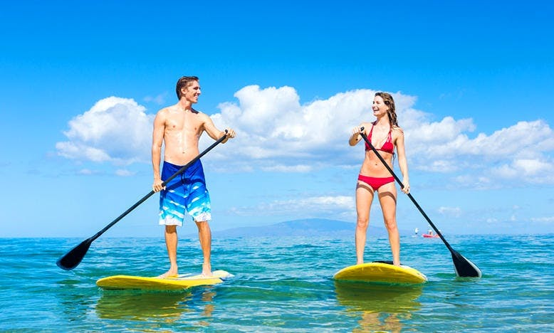 10-6 Hull Paddler SUP Rental in Honolulu, Hawaii