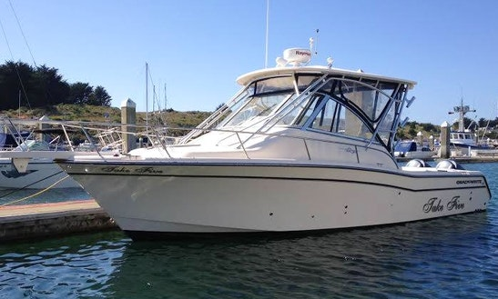 Fishing Charter In Bodega Bay, California On A Grady White Express Yacht