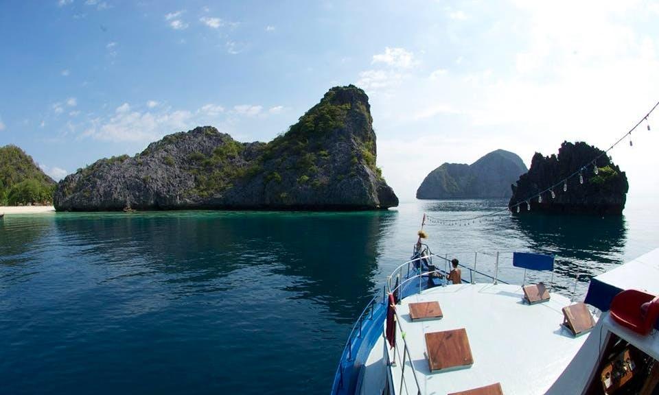 """65' Passenger Boat """"MV Thai Sea"""" Diving Charter in Tambon Khao Niwet, Thailand"""