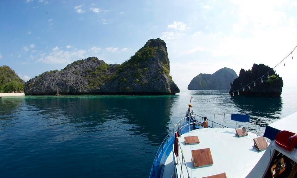 "65' Passenger Boat ""MV Thai Sea"" Diving Charter in Tambon Khao Niwet, Thailand"
