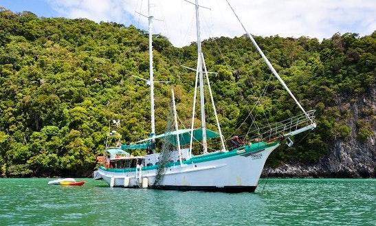 76' Sailing Schooner In Malaysia