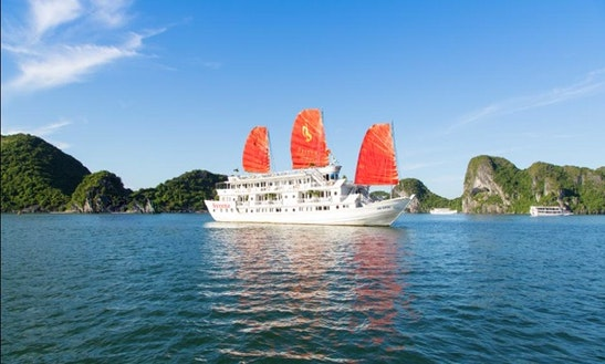 Luxury Cruising Yacht In Vietnam