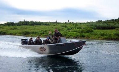 27' Bass Boat Rental In Bristol Bay, Alaska