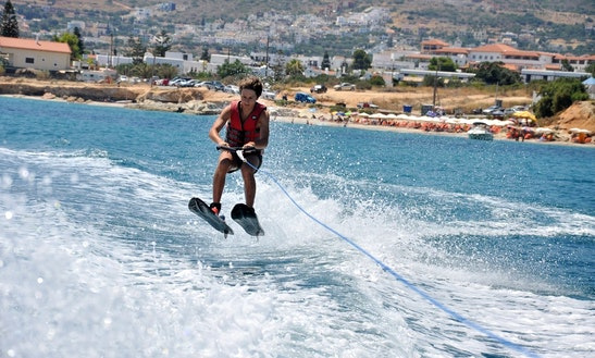 Water Ski Lesson In Greece