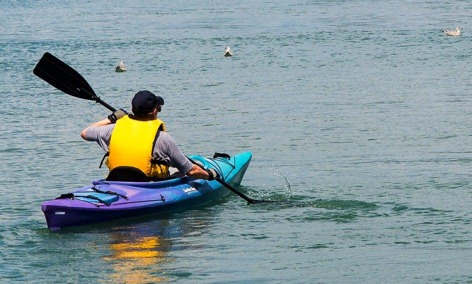 Kayaking in San Pedro, Belize