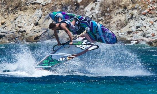 Wind Surfer Rental In Mikonos, Greece