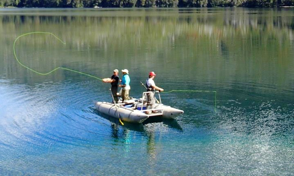 Rib fishing charter in san carlos de bariloche argentina for Delaware fishing charters