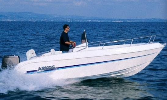 Arkos 517 Open Bowrider Charter In Tossa De Mar