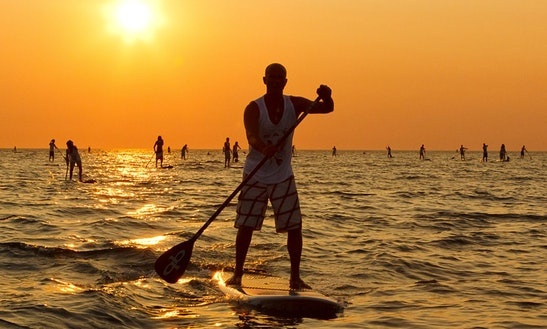 Stand Up Paddleboard Rental In Cecina, Italy