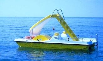 Paddle Boat Rental in Cecina, Italy