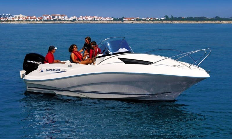 Quick Silver 555 Boat Charter in Ferrara