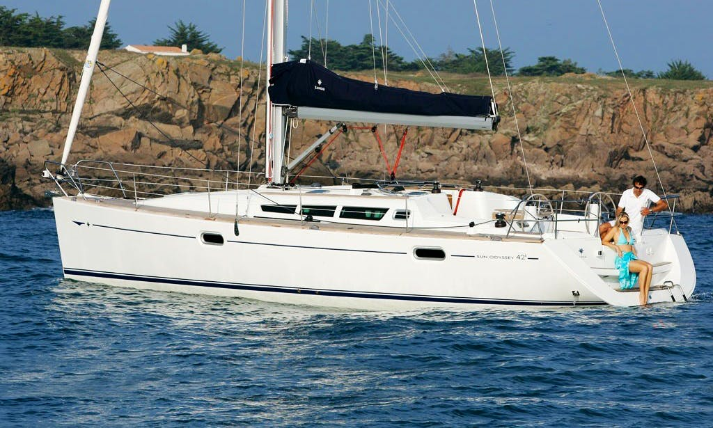 "Charter 42ft ""Geormar"" Sun Odyssey Yacht in Chios, Greece"
